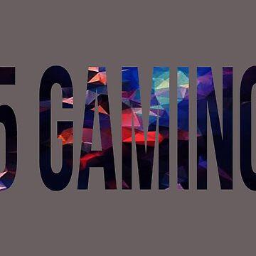 blue 5 Gaming logo by 5-gaming
