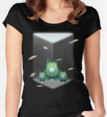 halloween tshirt funny Women's Fitted Scoop T-Shirt