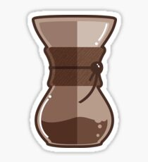 Pour Over Chemex Gourmet Coffee Maker Sticker