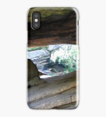 Point of view Brimham Rocks at Nidderdale  iPhone Case