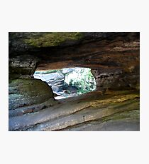 Point of view Brimham Rocks at Nidderdale  Photographic Print