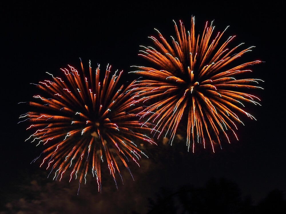 Fireworks 3 by John Velocci
