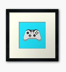 Xbox One Controller Vector Framed Print