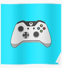 Xbox One Controller Vector Poster