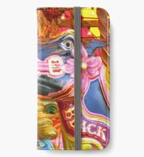 Victorian Carousel York UK Bursting colours iPhone Wallet/Case/Skin