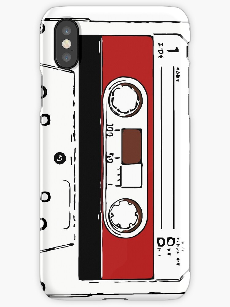80s audio tape sketch  by Escarpatte