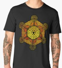 Sacred Geometry TerraCube Men's Premium T-Shirt