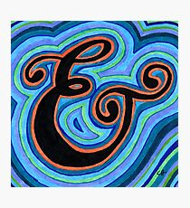 Fancy Ampersand  Photographic Print