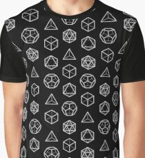 PLATONIC SOLIDS - COSMIC ALIGNMENT  Graphic T-Shirt