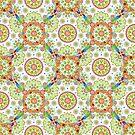 Brocade Mandala by PatriciaSheaArt