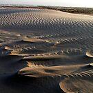 Waves of sand Midsland beach by patjila