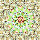 Tapestry Mandala by PatriciaSheaArt