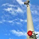 Vertical flower by Silvia Ganora