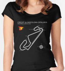 Circuit de Barcelona Catalunya Women's Fitted Scoop T-Shirt