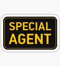 Special Agent Sticker