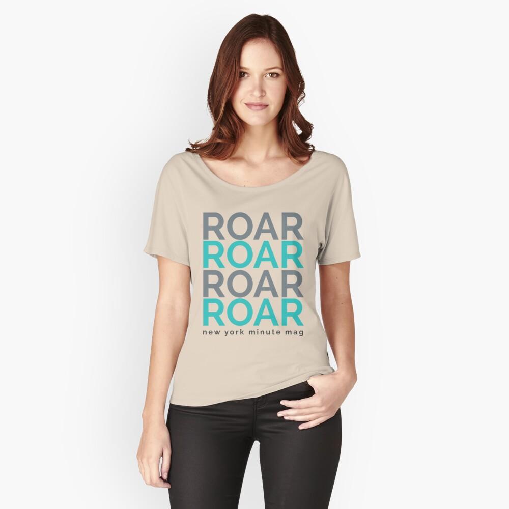 Roar Women's Relaxed Fit T-Shirt Front