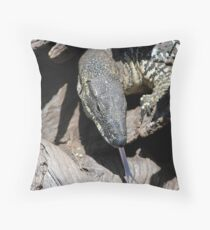 Lace Monitor Throw Pillow
