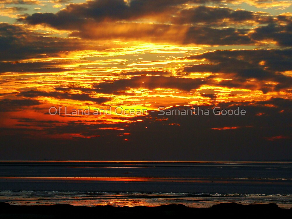 Fire Sky by Of Land & Ocean - Samantha Goode
