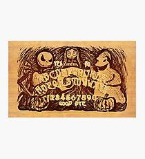 Lámina fotográfica Tablero de Pesadilla Ouija