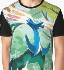 Xerneas Pokemon X Cell Phone Case Graphic T-Shirt