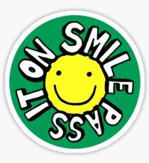 Smile, Pass It On Sticker