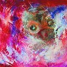 Abstract Owl by Ming  Myaskovsky