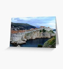 Dubrovnic Greeting Card