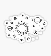tumblr space Sticker