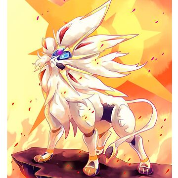 Solgaleo Pokemon Cell Phone Case by SrWhitePS