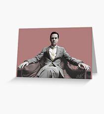 BBC SHERLOCK: Moriarty Greeting Card