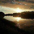Sun setting  by devscape