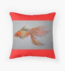 Goldfish Pond ( close up #9) Throw Pillow