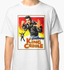 ELVIS : Vintage King Creole Movie Advertising Print Classic T-Shirt