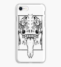 Alien Demon Head Design iPhone Case/Skin