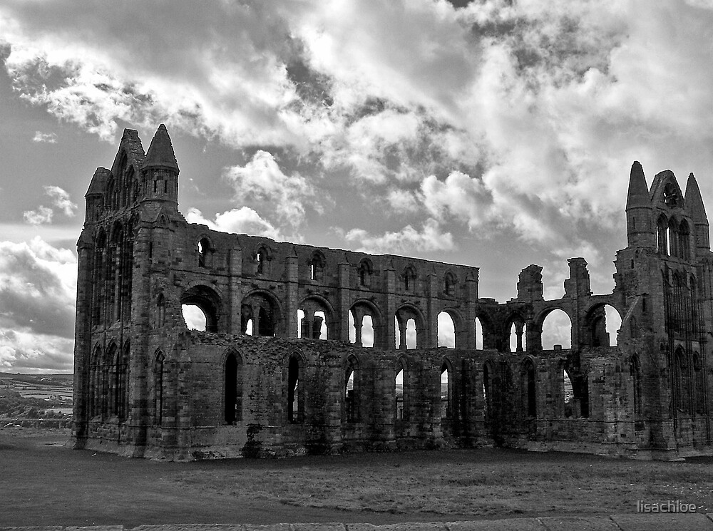 Whitby Abbey North Yorkshire by lisachloe