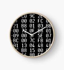 Numerical data Clock