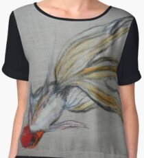 Goldfish Pond (close up #5) Women's Chiffon Top