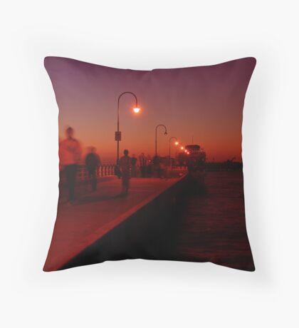 St Kilda Dusk Throw Pillow