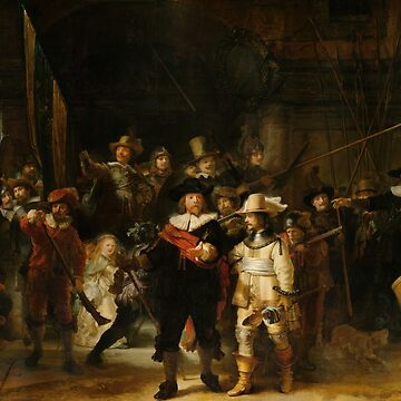 A Rembrandt Renascence art from 1642 by hypnotzd