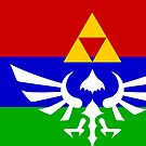 Hyrule Flag by Sarinilli