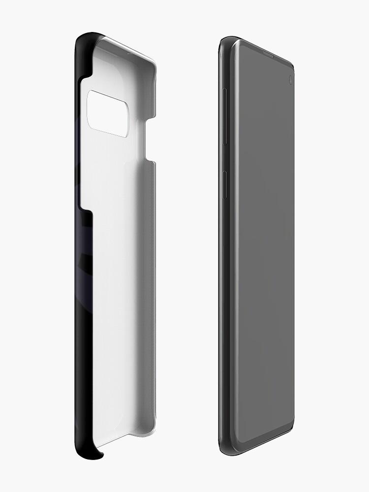 Alternate view of Hylia Crest - Purple on Black Case & Skin for Samsung Galaxy