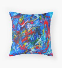 Winter In Russia Throw Pillow