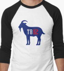 TB 12 The Goat Men's Baseball ¾ T-Shirt