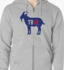 TB 12 The Goat Zipped Hoodie