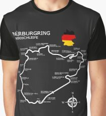 The Nurburgring - Nordschleife Graphic T-Shirt
