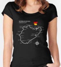 Camiseta entallada de cuello redondo Nurburgring - Nordschleife