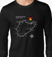 The Nurburgring - Nordschleife Long Sleeve T-Shirt