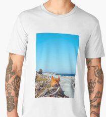 Aran islands on a horse Men's Premium T-Shirt
