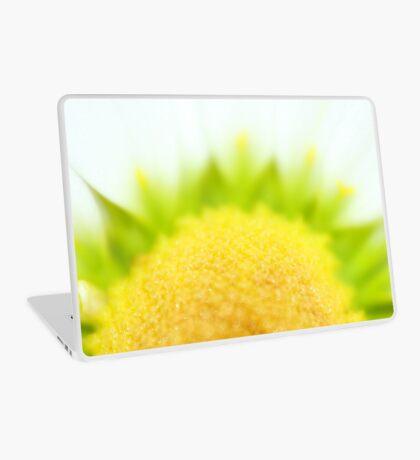 Green Solar Flares Laptop Skin