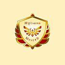 Hylians United Shield on Cream by Sarinilli